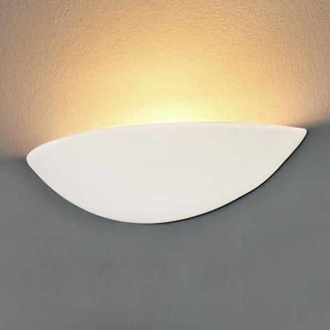 Applique LED en plâtre PALE à peindre