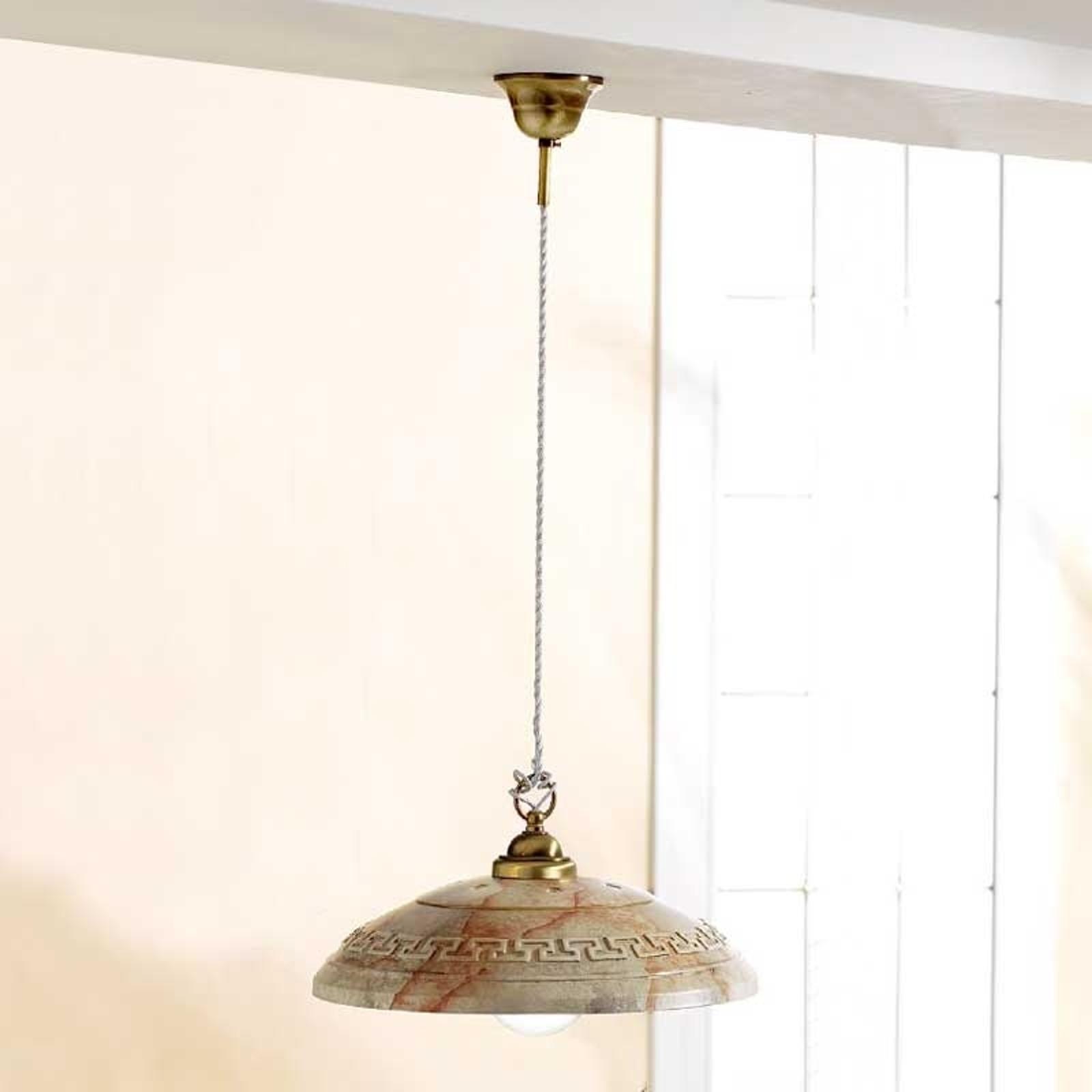 Lámpara colgante GRECA MARMO