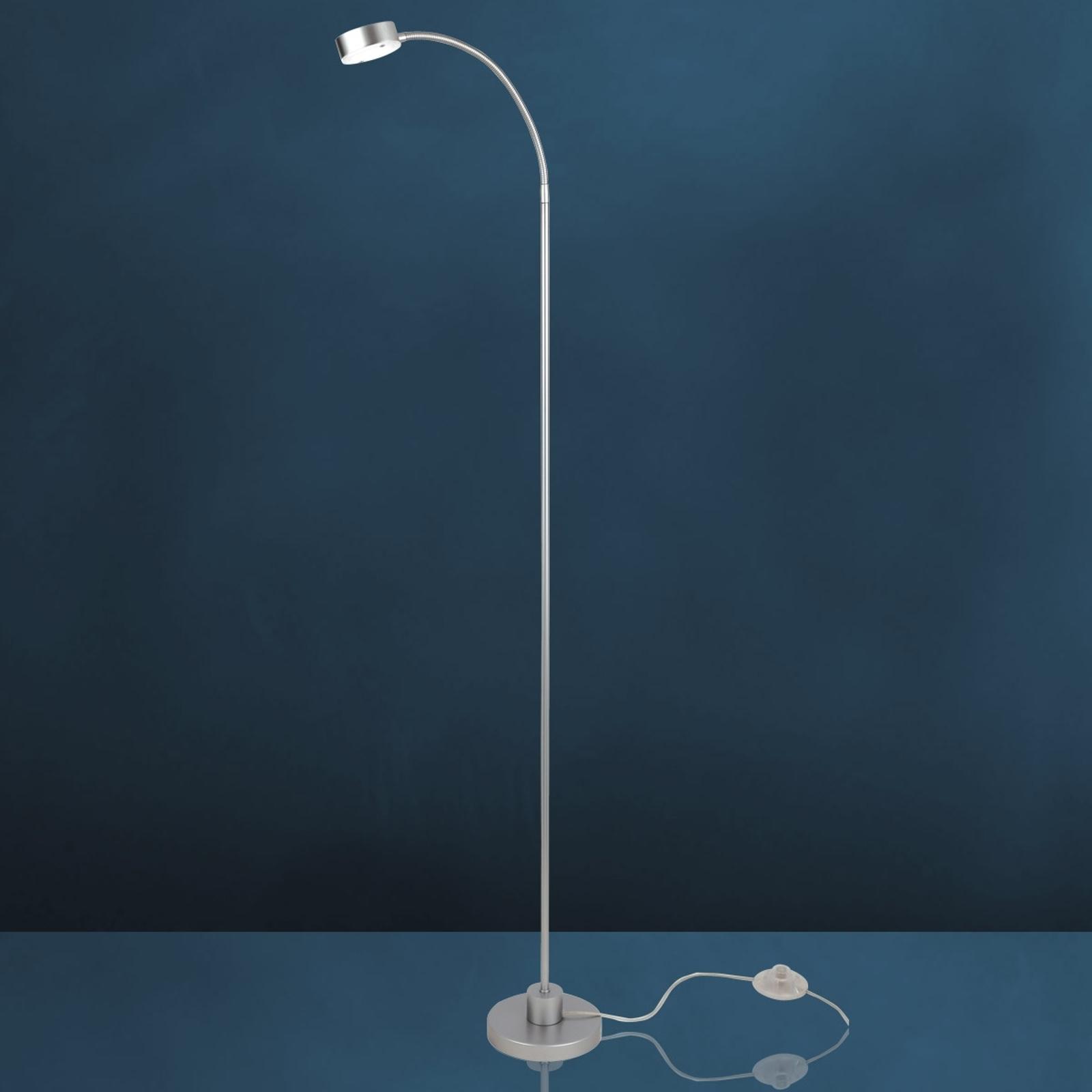 Lámpara de pie flexible LED SATURN, 1 luz