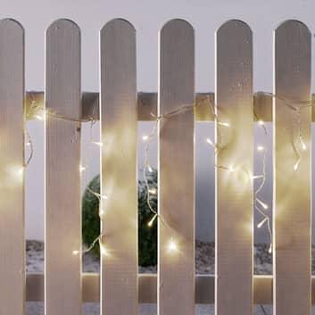 Tenda LED Icicle da esterni, 144 luci