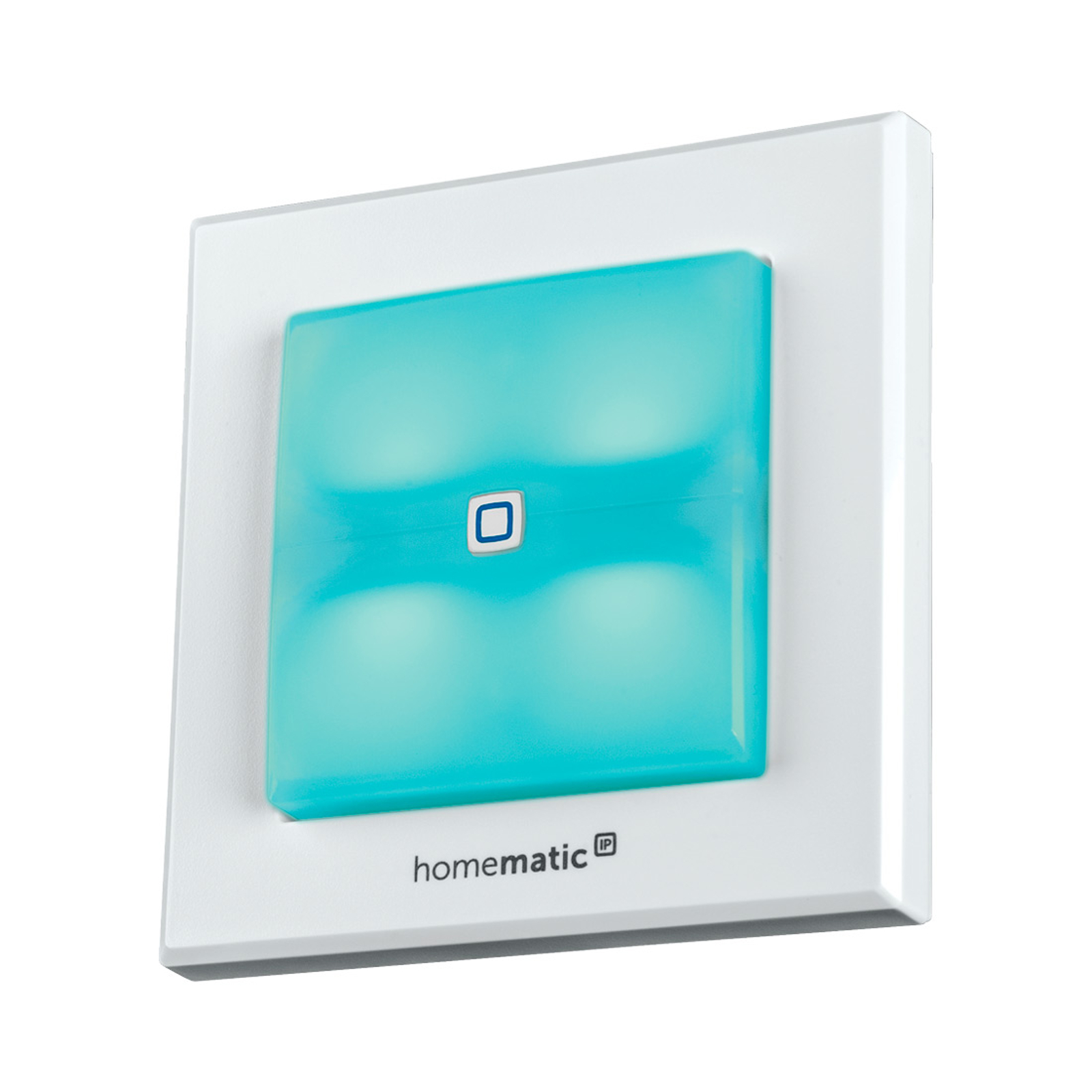 Homematic IP-bryter med signallys