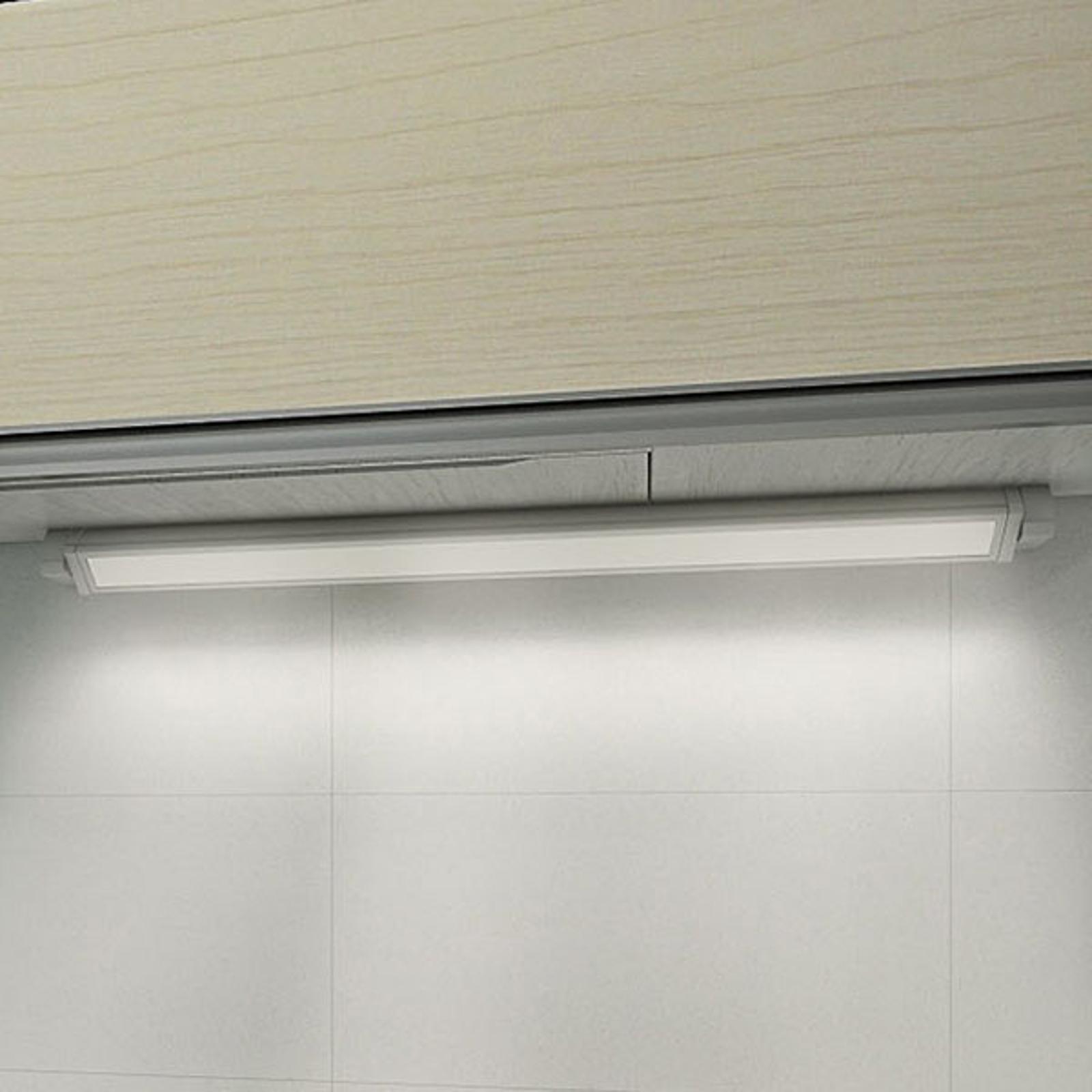 Utenpåliggende LED-møbellampe 957, lengde 77 cm