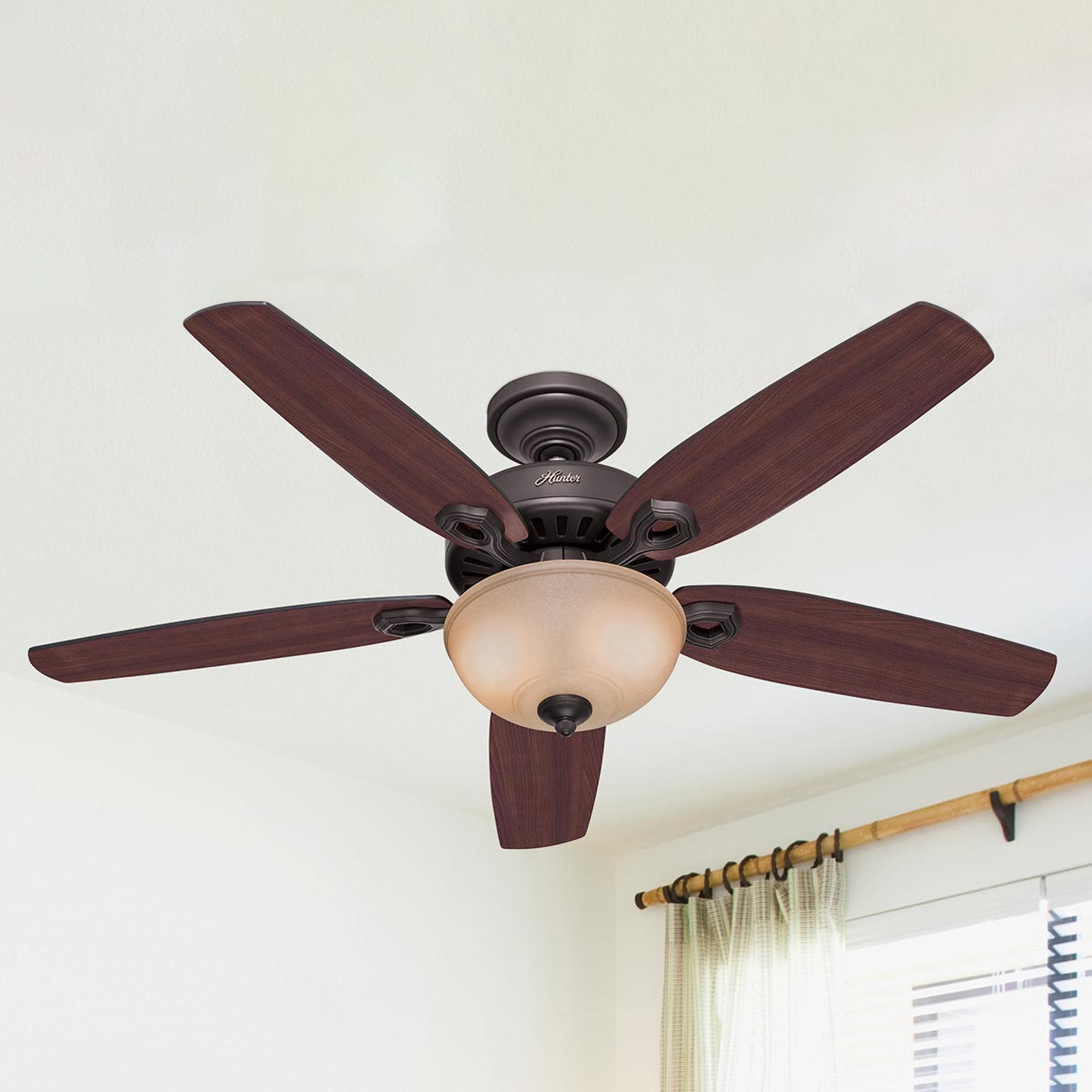 Produktové foto Hunter Stropní ventilátor Hunter Builder Deluxe, bronz