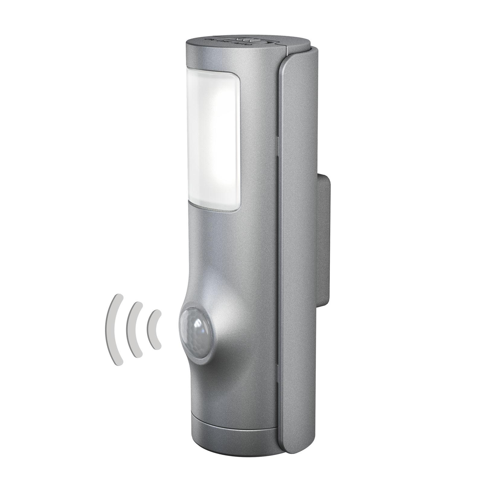 LEDVANCE Nightlux Torch LED natlys sølv