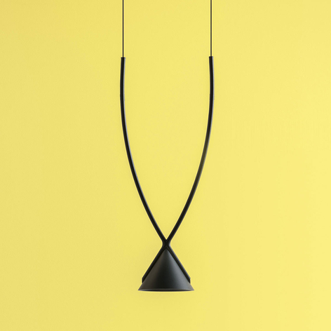 Axolight Jewel LED-Pendelleuchte 1-flg. schwarz