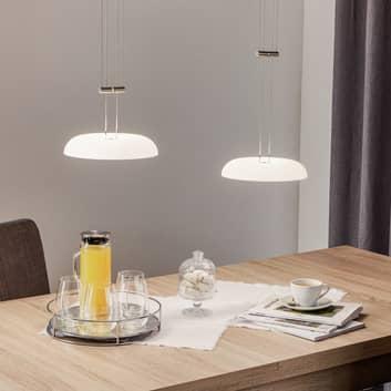 BANKAMP Vanity lámpara colgante 2 luces, níquel