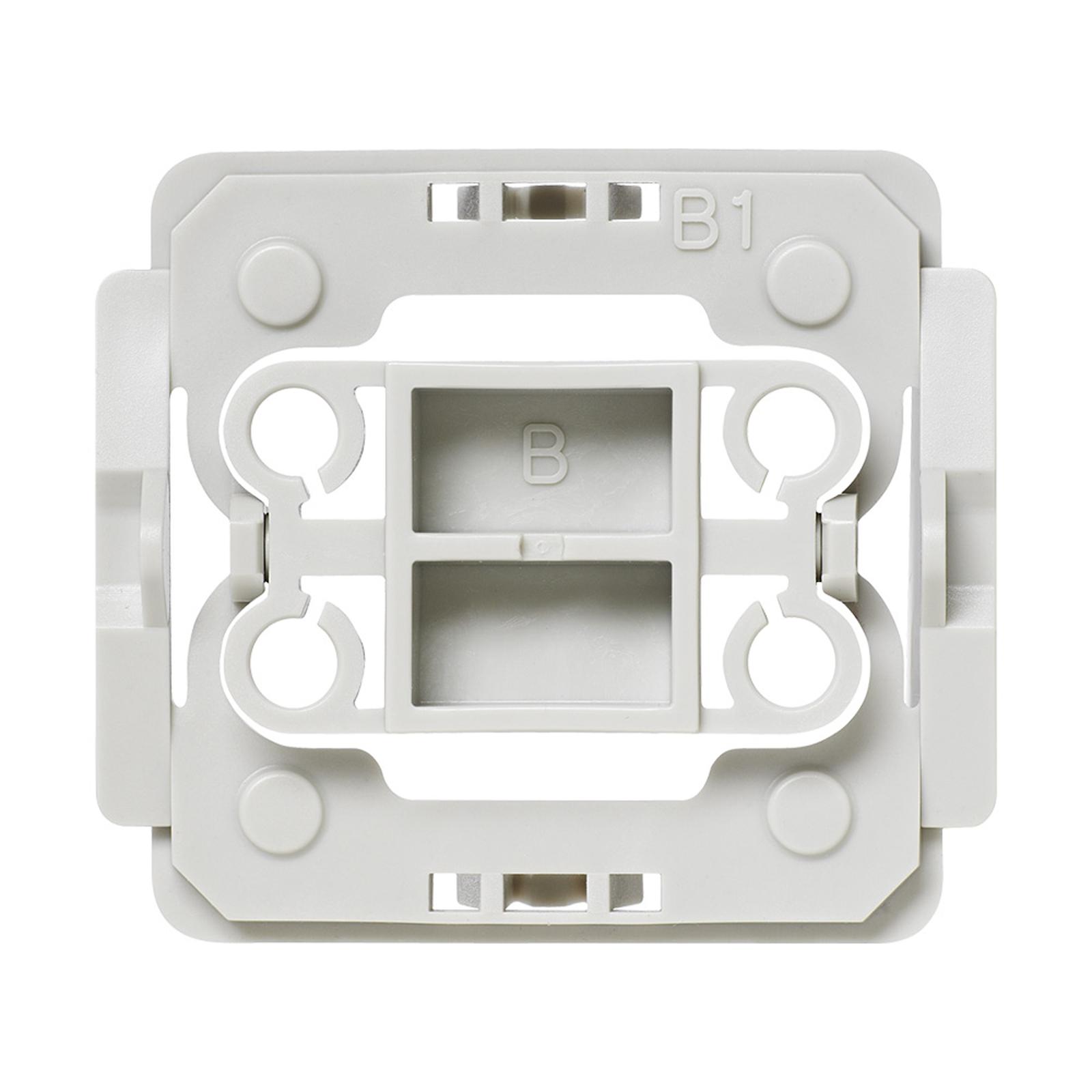 Homematic IP adapter voor Berker schakelaar B1 20x