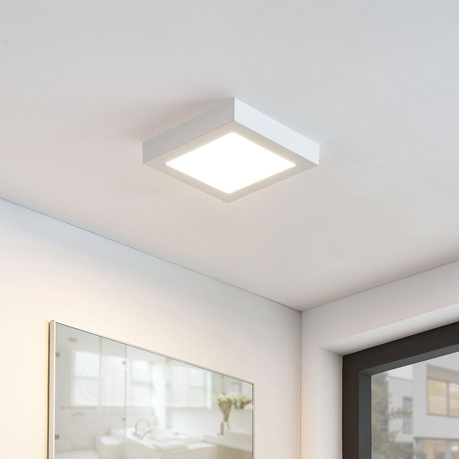 LED stropní svítidlo Marlo 3000K hranaté 23,1cm