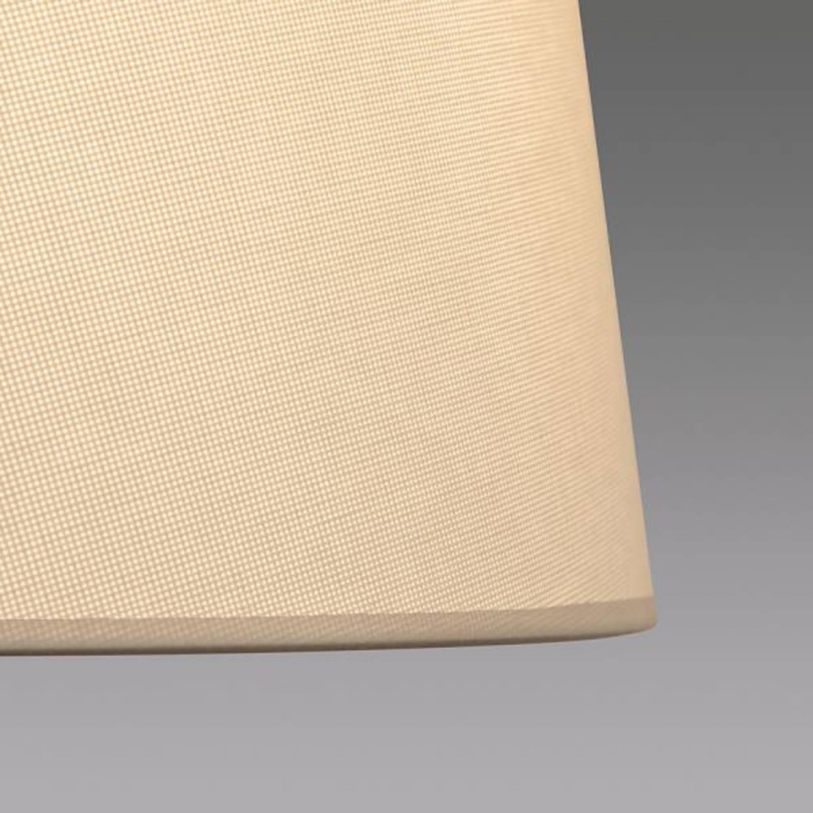 LOUM Bivio Wandleuchte mit Lesearm Schirm grau