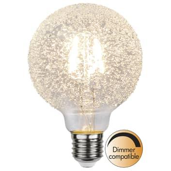 LED-globe-lamppu E27 1W G95 Ice Drop 2600K