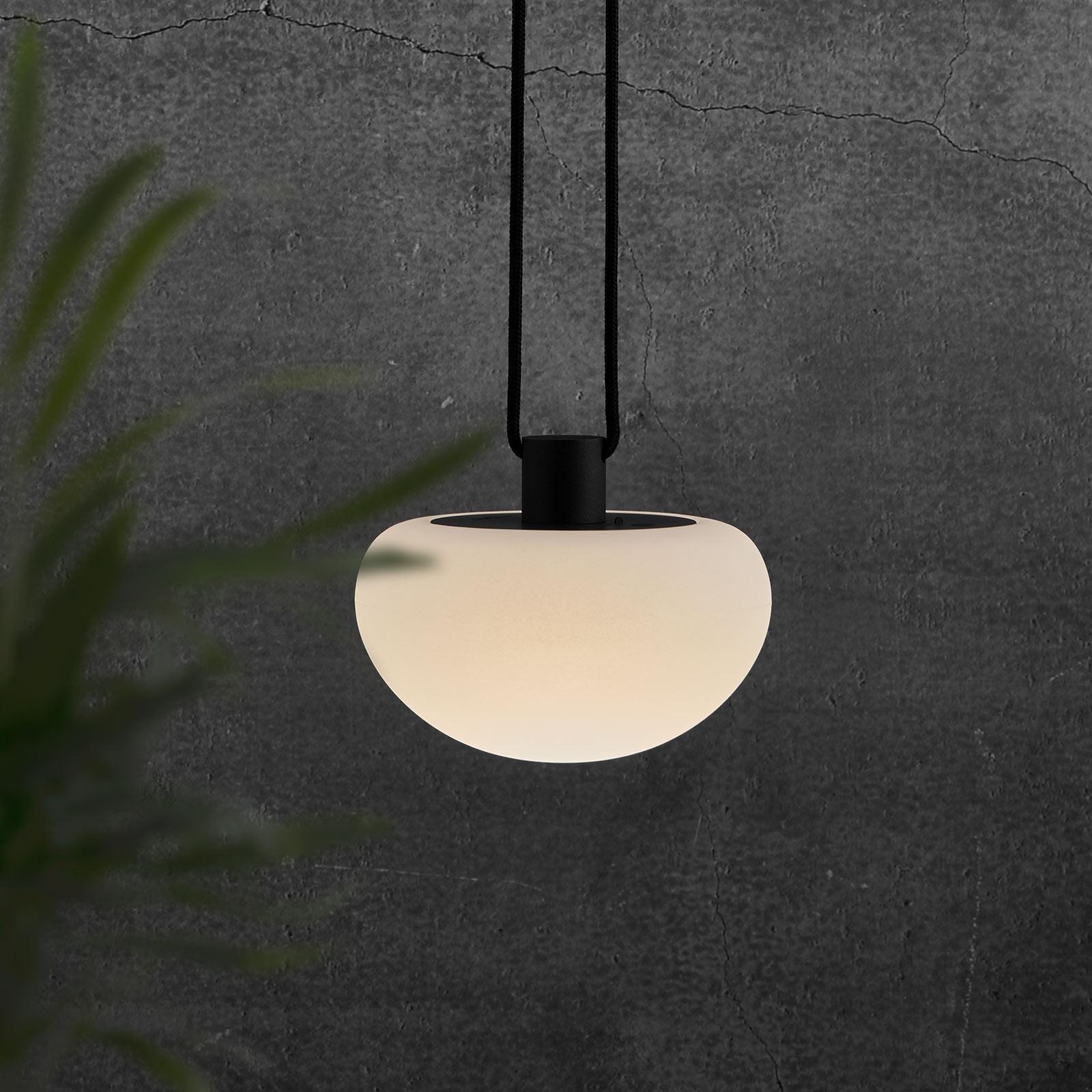LED-koristevalaisin Sponge pendant, akku