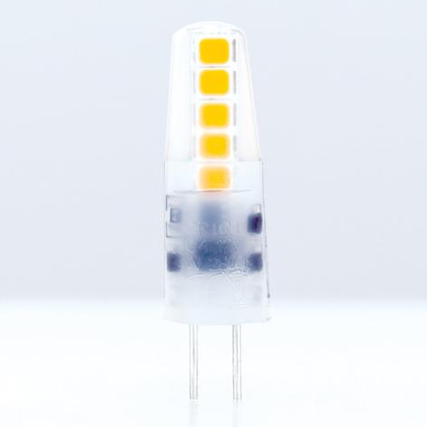 G4 12V 2W 828 LED stiftsokkelpære mat