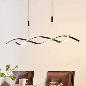 Lindby Welina LED-Hängeleuchte, höhenverstellbar