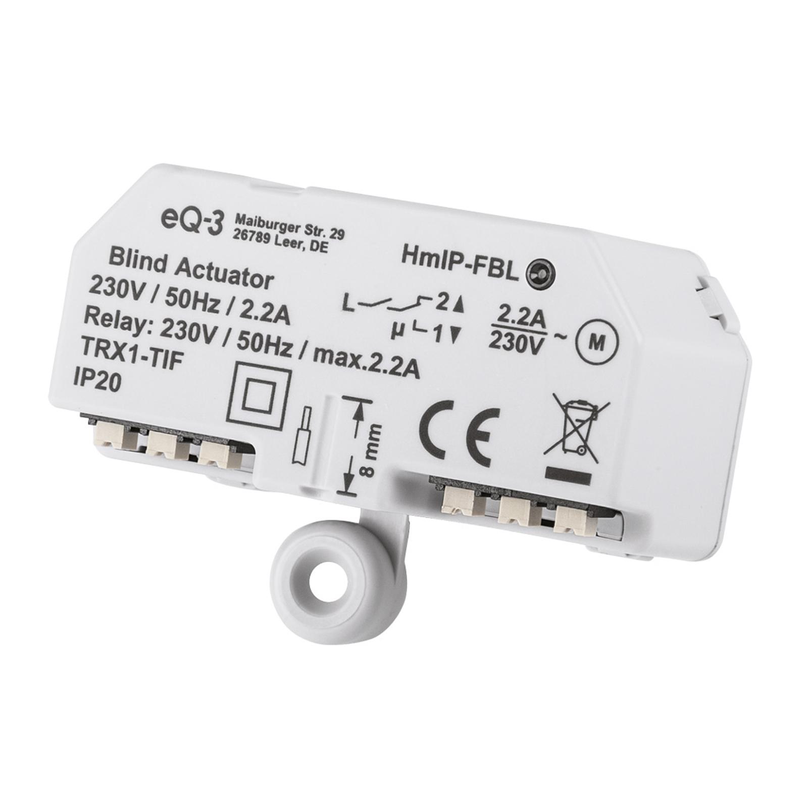 Homematic IP ovladač žaluzií pod omítku/na omítku