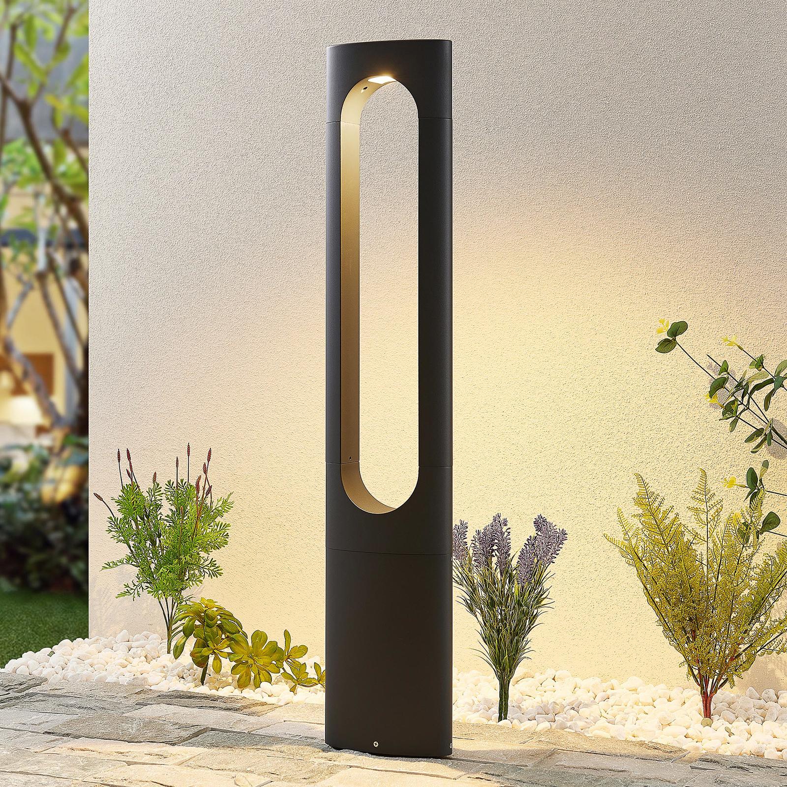 Lucande Fenti LED tuinpadverlichting, 90 cm