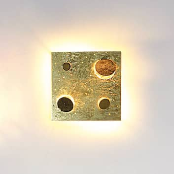 Knikerboker Buchi nástěnné světlo 32x32cm pozlátko