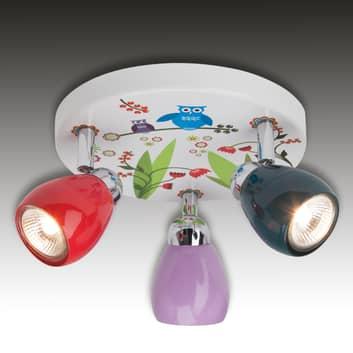 LED stropní světlo Birds tři zdroje