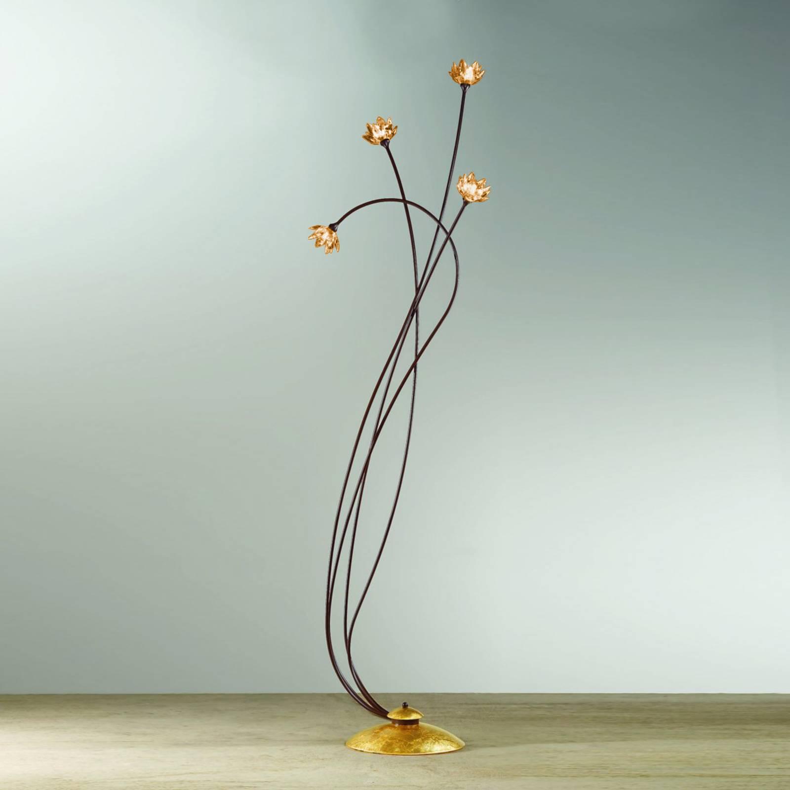 Stehleuchte Fiorella amber