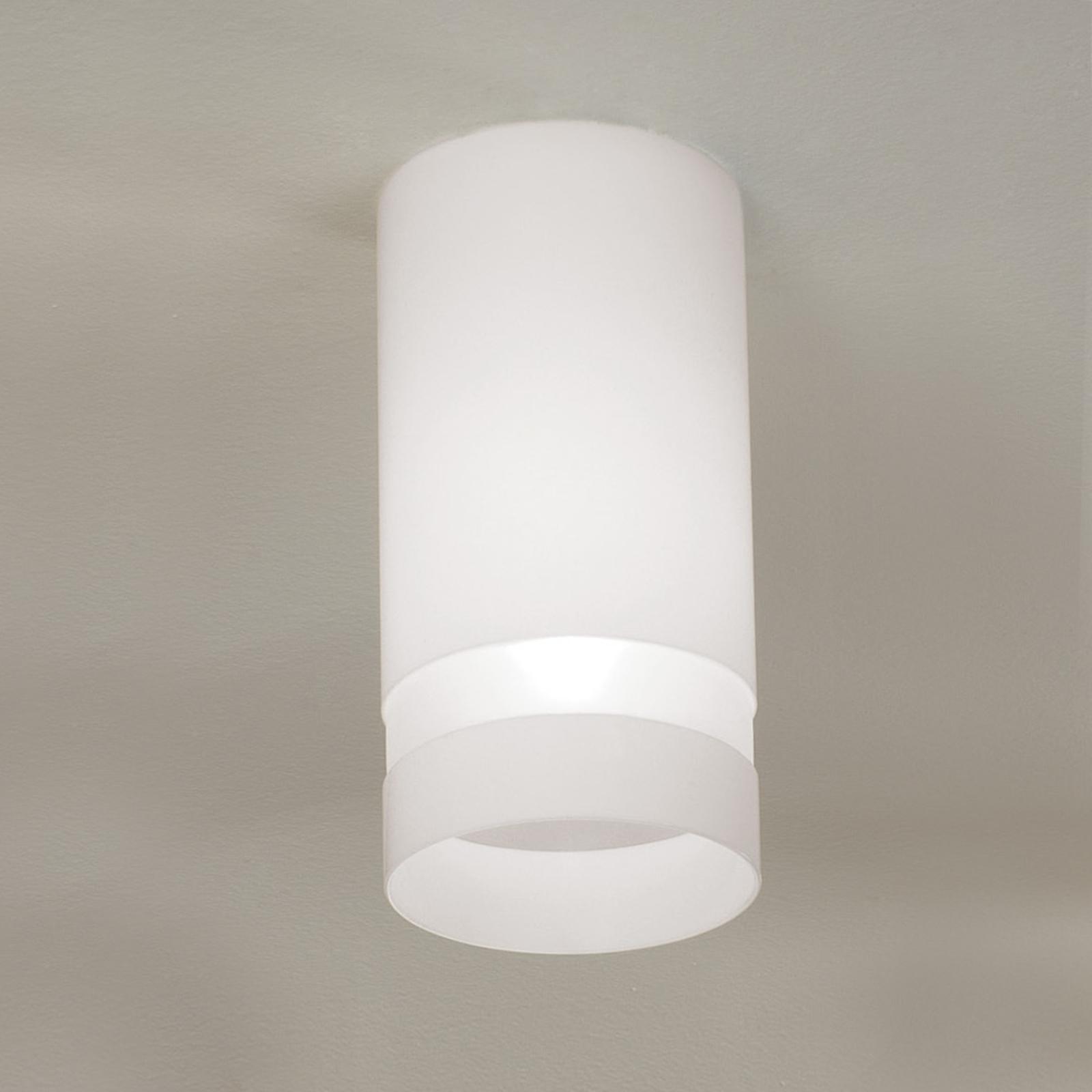 Biała lampa sufitowa Otello
