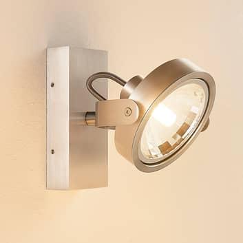 Alufarbener LED-Strahler Lieven