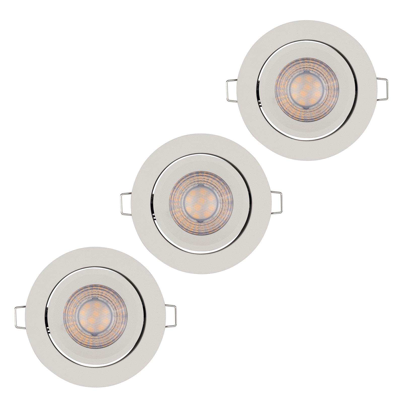 LEDVANCE Simple Dim spots encastrés LED, blanc