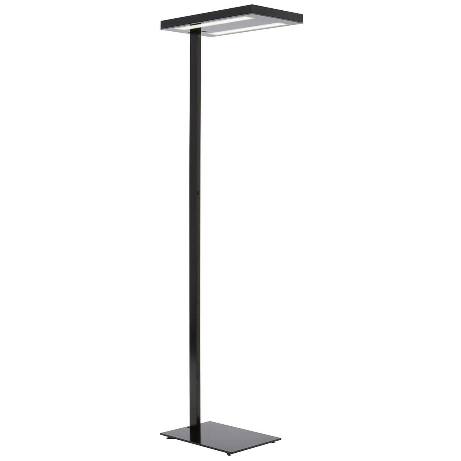 Lampa stojąca do biura Free-Floor czarna