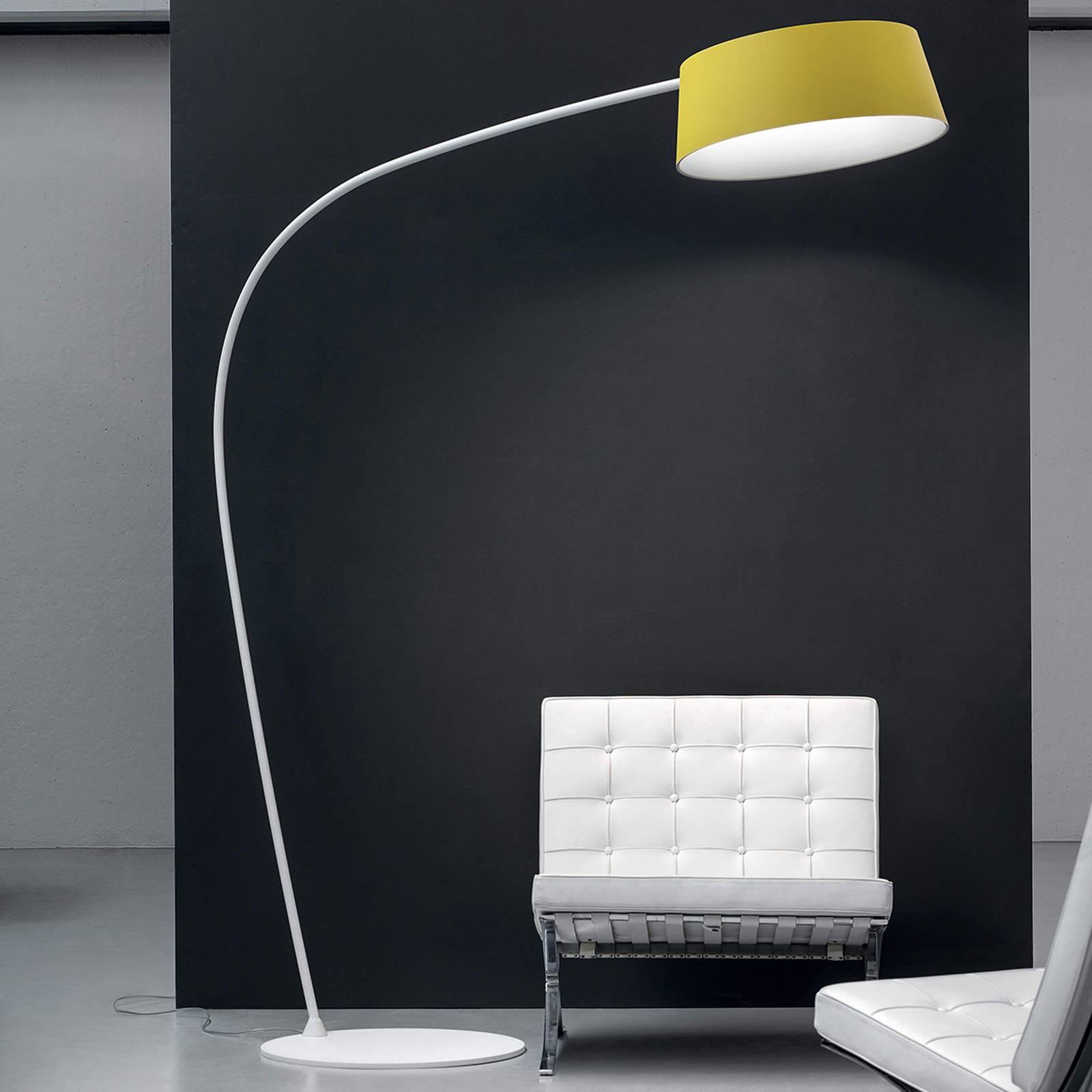 Kleurrijke LED booglamp Oxygen_FL1, instelbaar