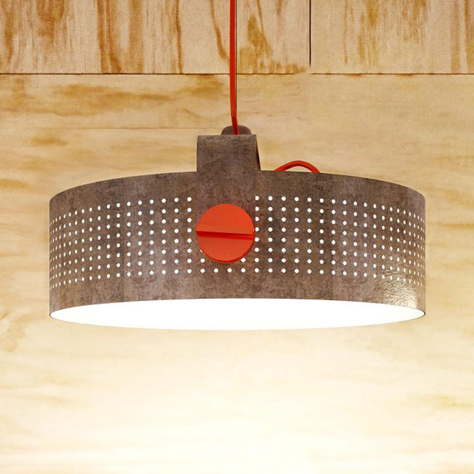 Martinelli Luce Modena LED-Hängelampe, cortenstahl