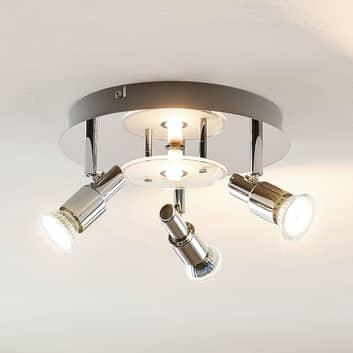 ELC Pelagia plafoniera LED, 4 luci