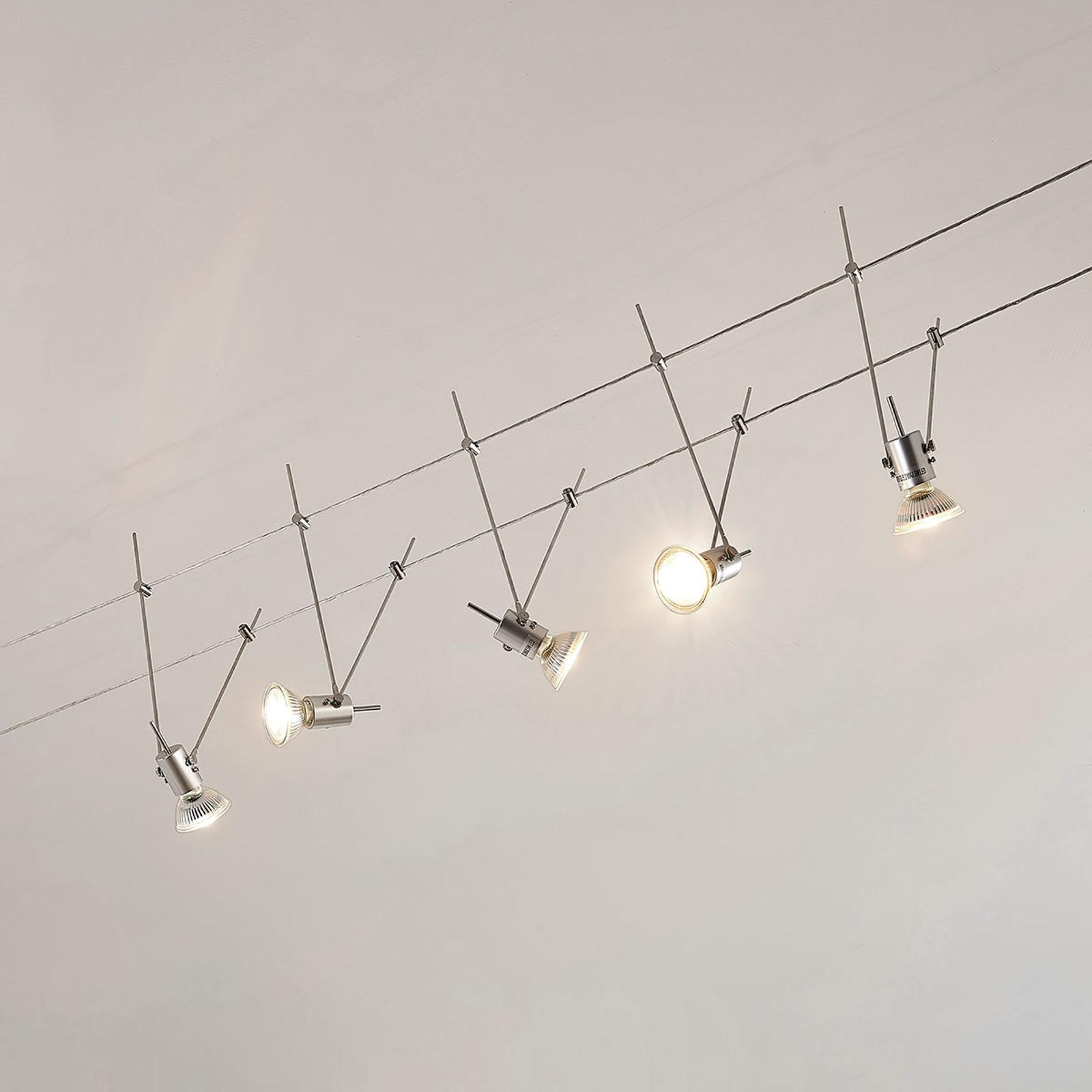 System linkowy LED Marno, 5-punktowy