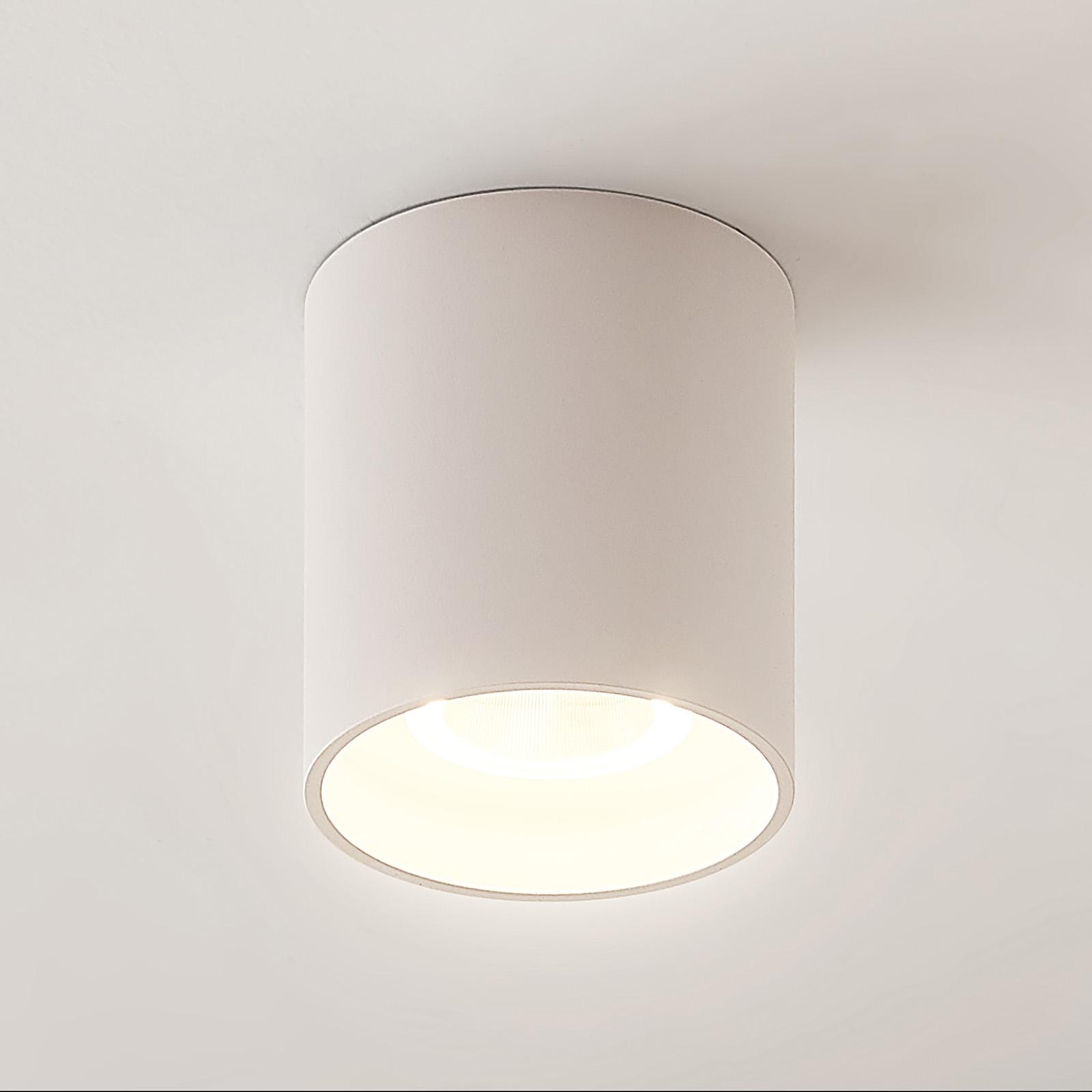 Arcchio Zaki LED-Deckenleuchte, rund, weiß
