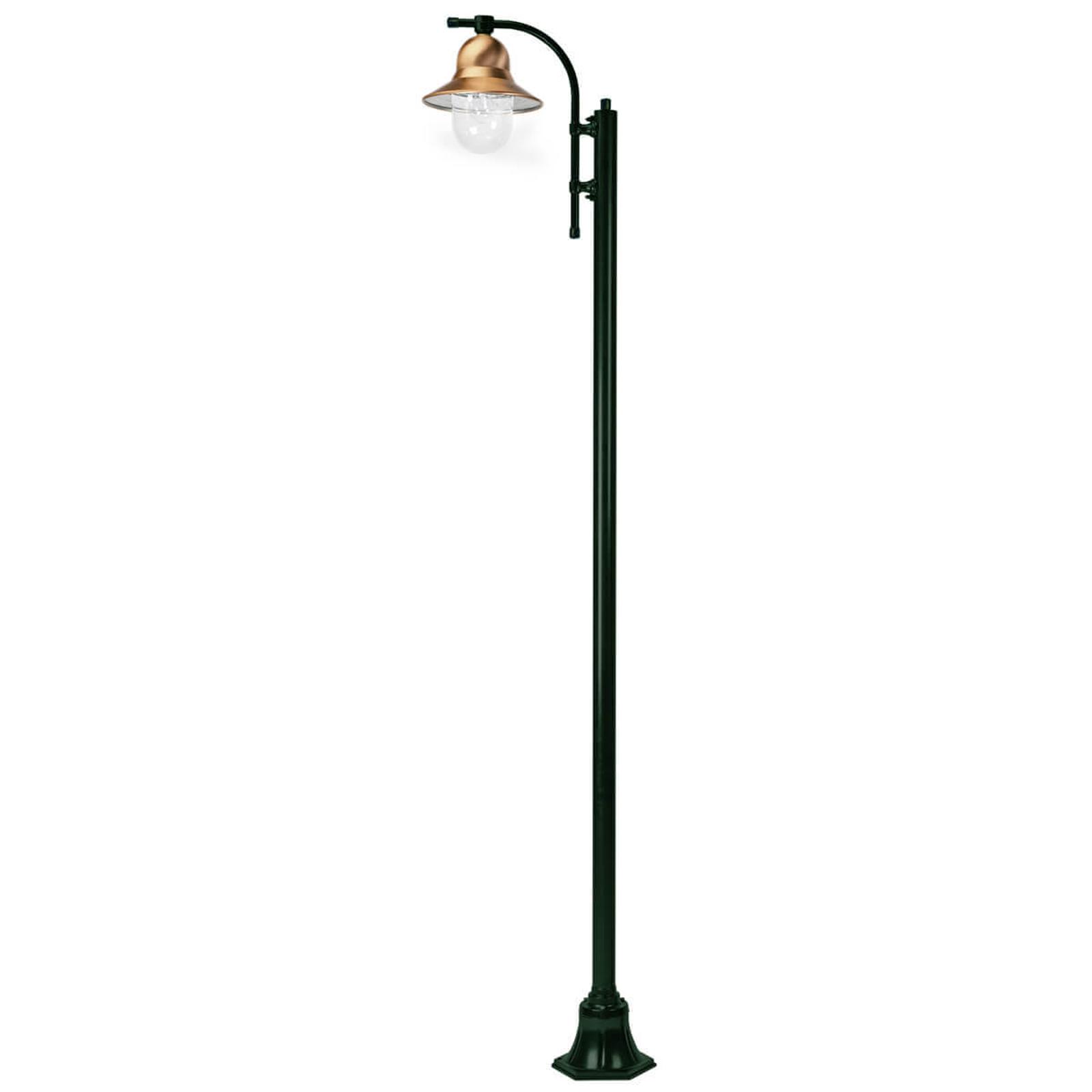 Lampadaire Toscane à 1 lampe 240cm vert