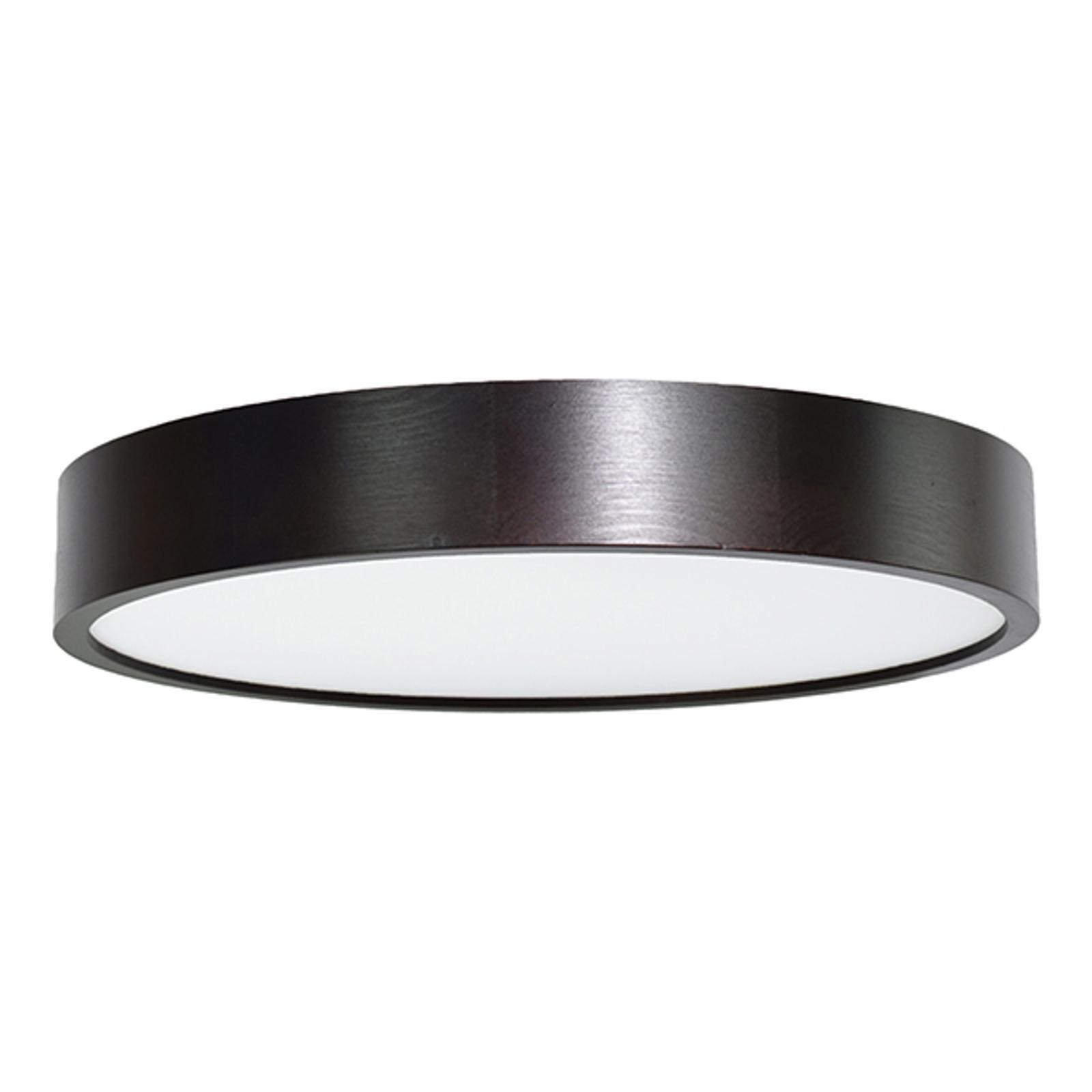Cleo LED-loftlampe, Ø 48 cm, sort