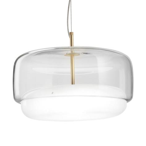 Lámpara colgante LED Jube SP G de vidrio