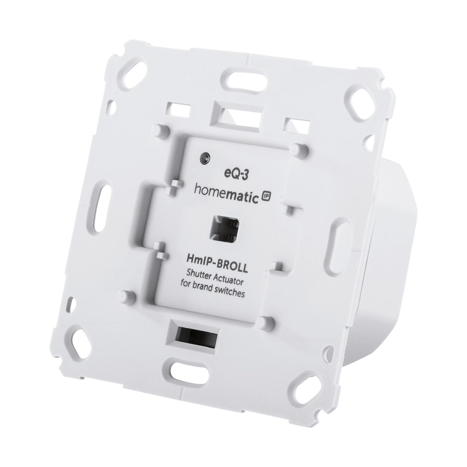 Homematic IP actionneur volet roulant interrupteur