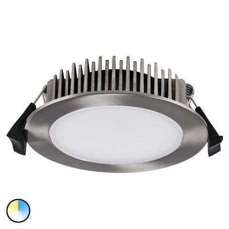 LED-Einbaustrahler Lino 3.000K-5.700K 13 W nickel