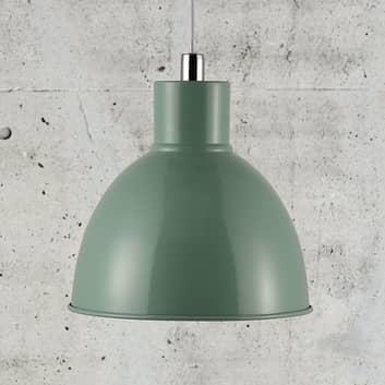 Lámpara colgante Pop con pantalla metálica
