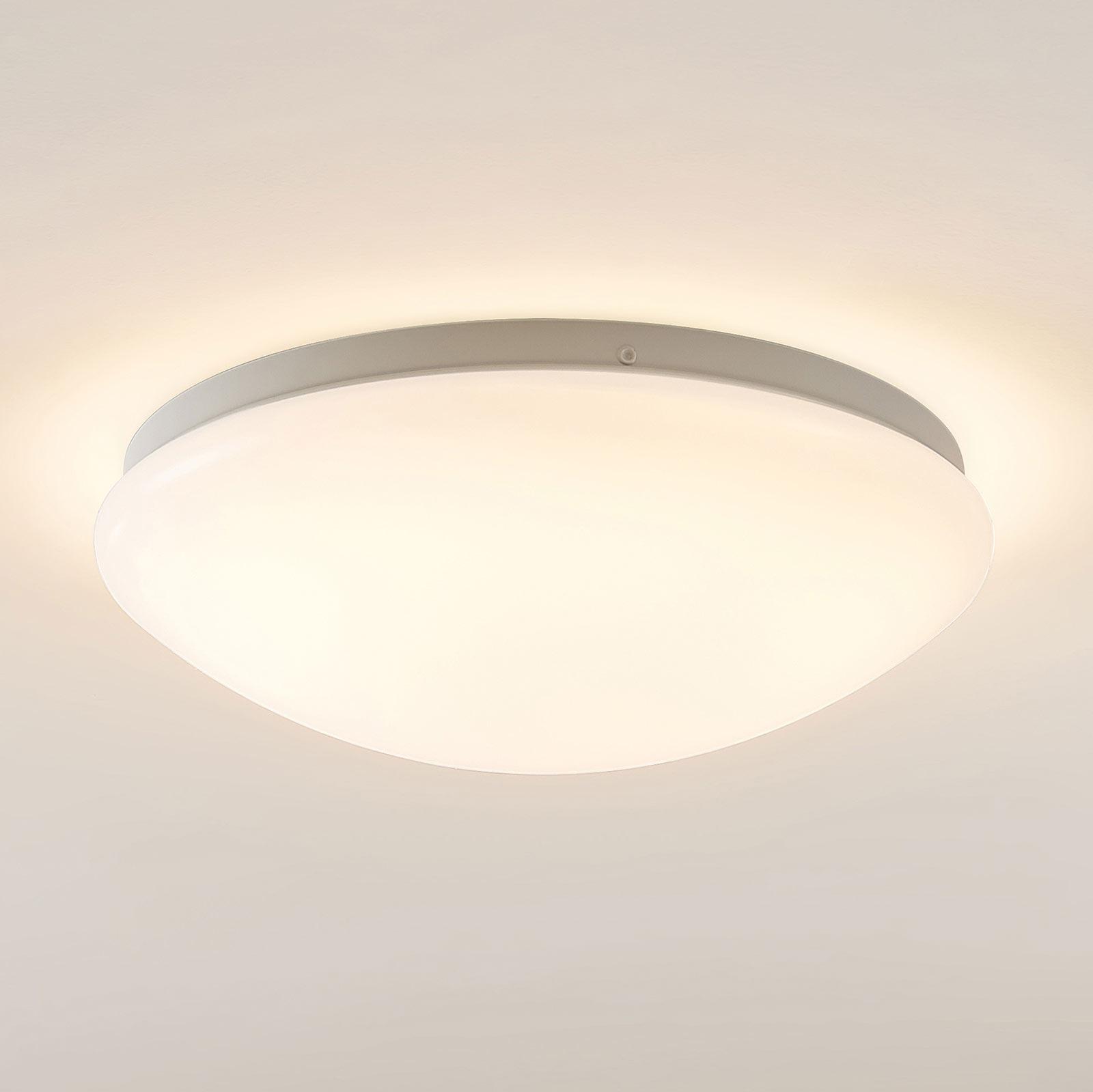 Arcchio Younes lampa sufitowa LED, biała, 30 cm