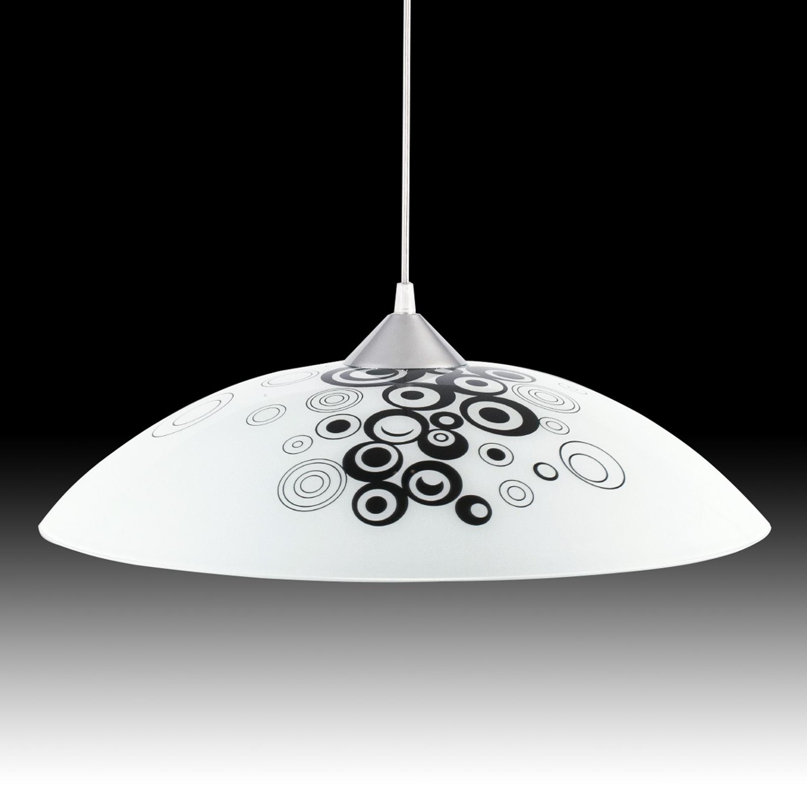 Lampa wisząca z wzorkiem Fresh