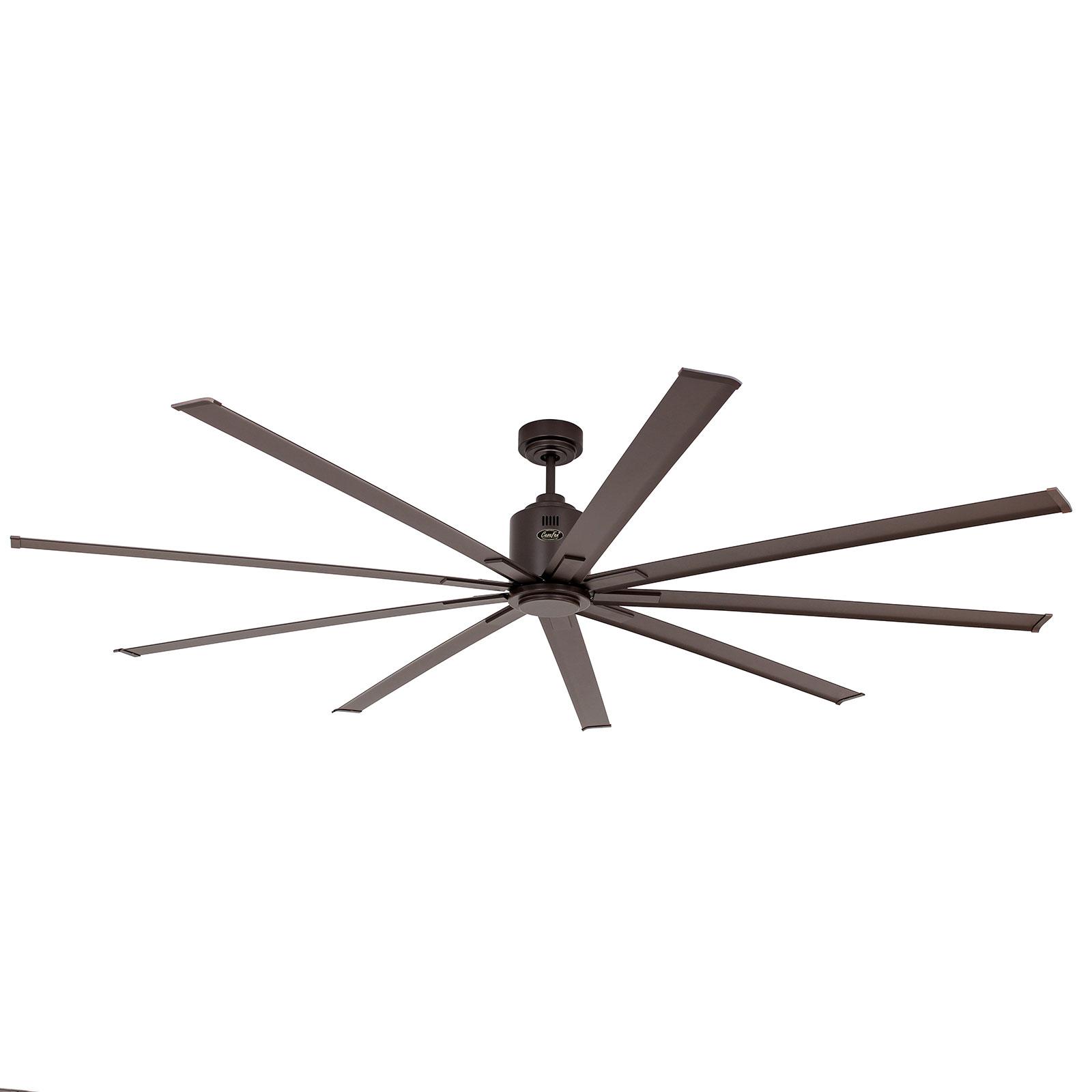 Ventilateur plafond Big Smooth Eco 220cm bronze