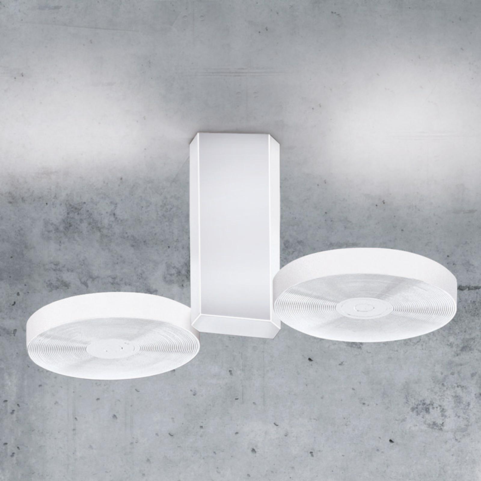 Lampa sufitowa LED CIDI, biała