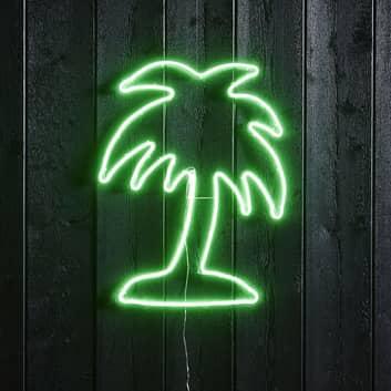 LED-silhuett Flatneon Palme