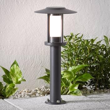 LED-pollarivalaisin Gregory, harmaa