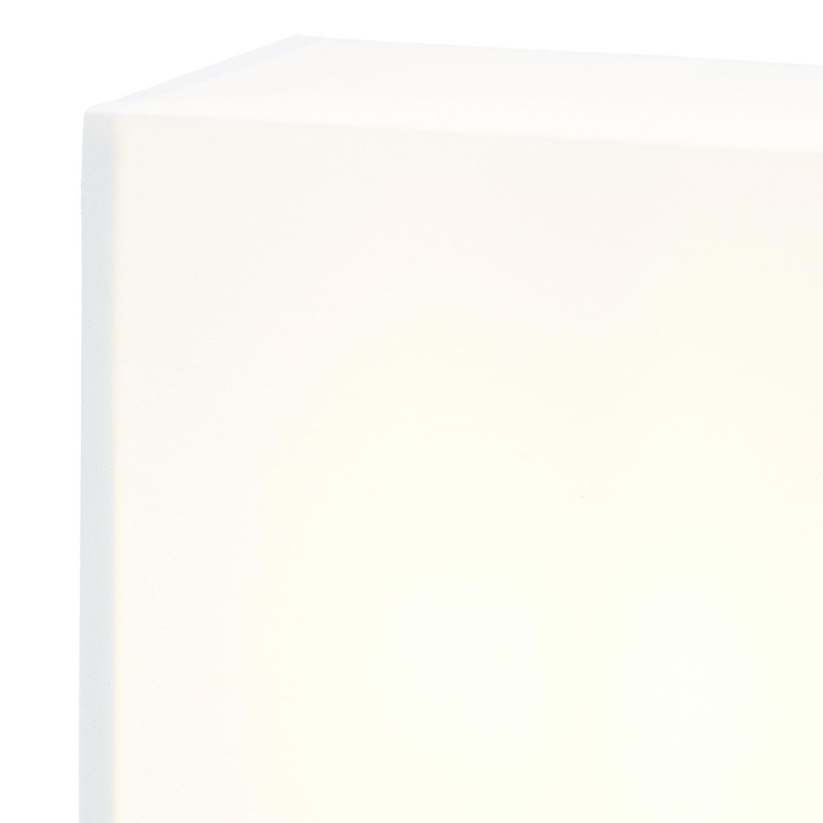 Lucande Patrik wandlamp hoekig 25cm wit