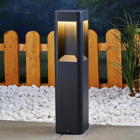 LED sokkellamp Annika van aluminium, 50 cm