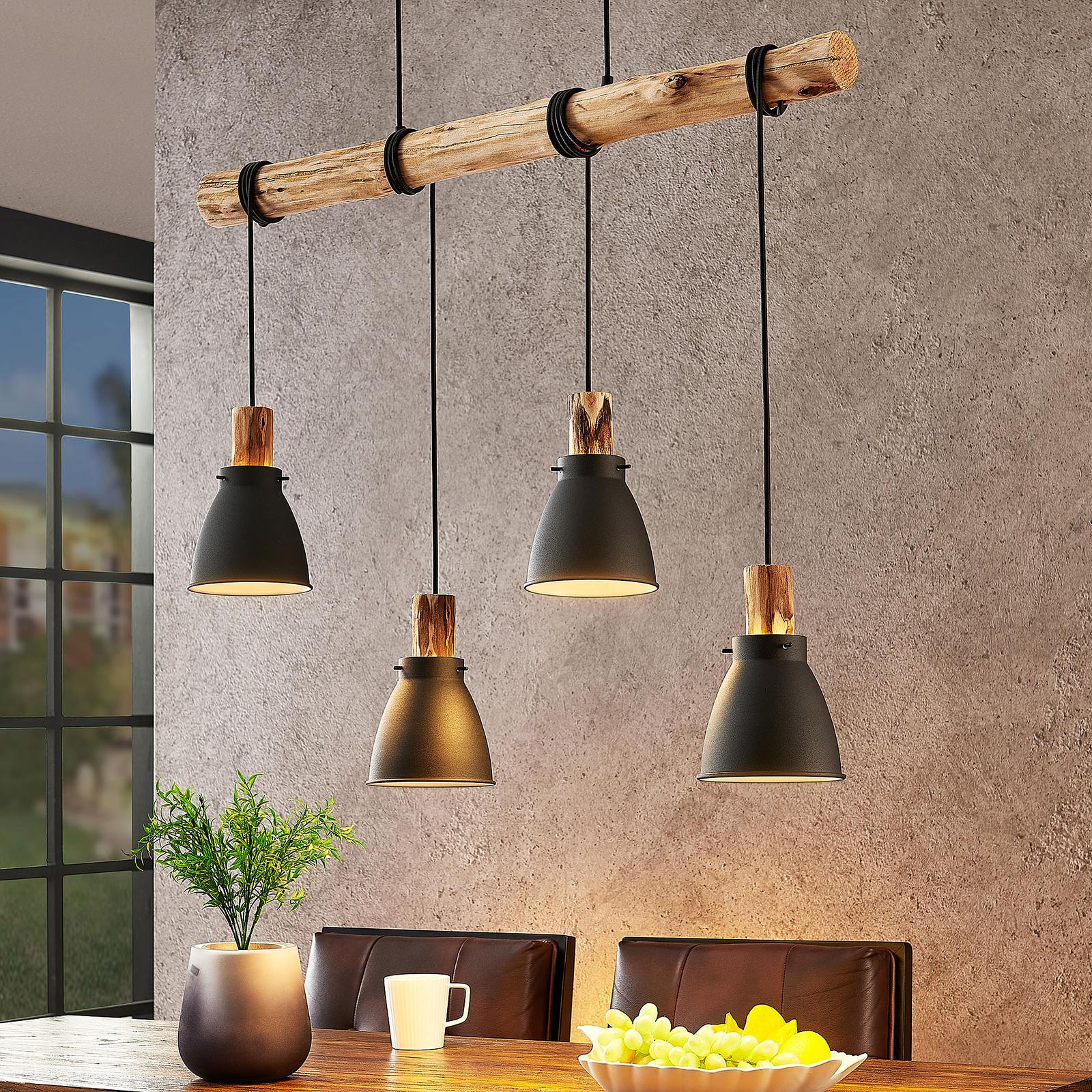 Lindby Trebale lampada a sospensione, 4 luci