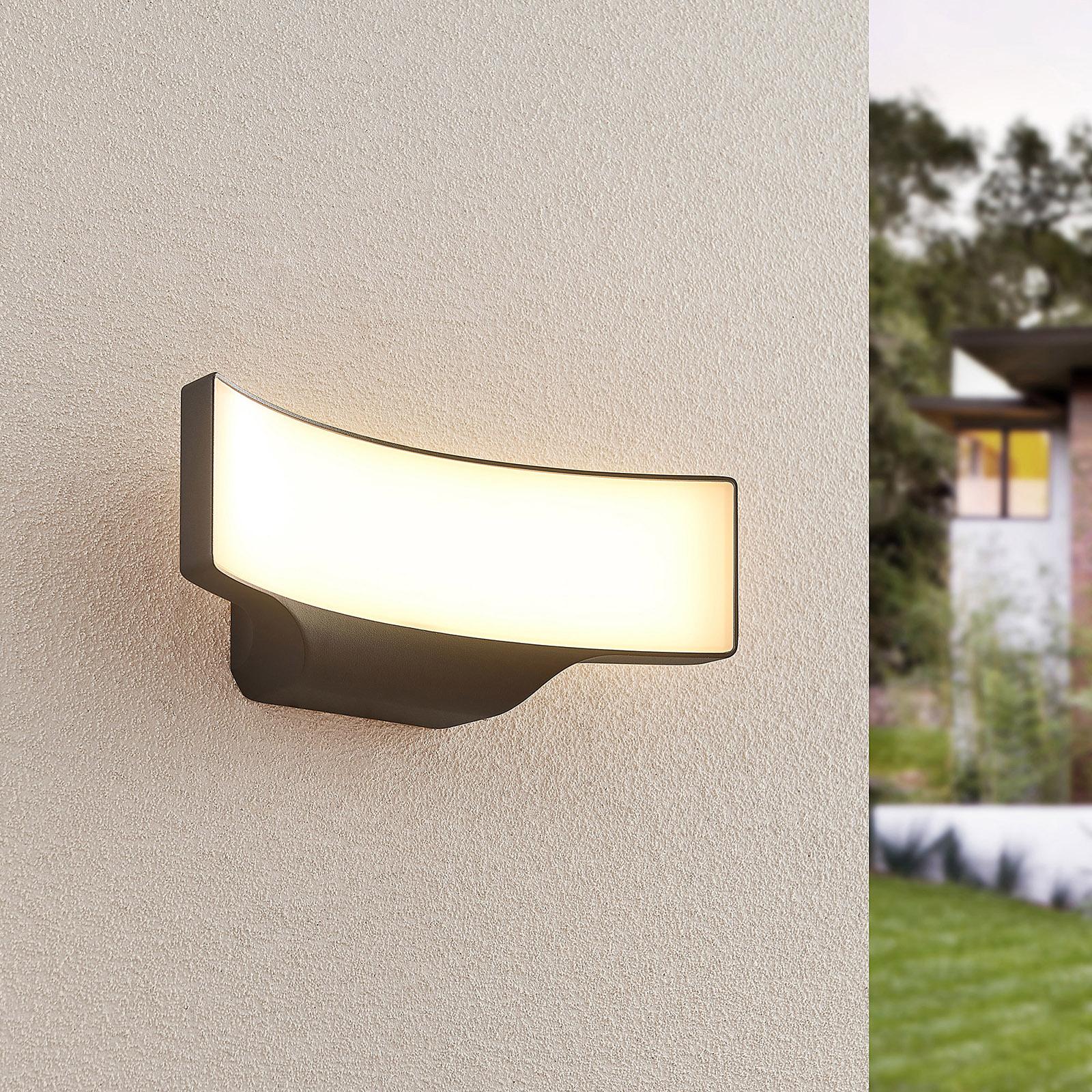 Lucande Vahida LED-Außenwandleuchte
