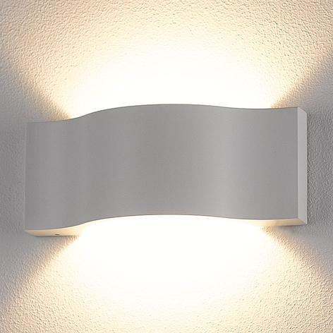 LED-Außenwandleuchte Jace, weiß