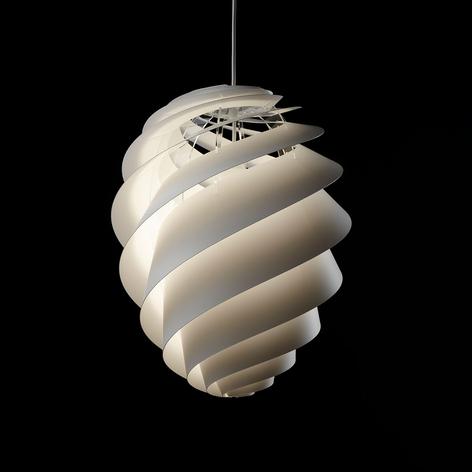 LE KLINT Swirl 2 - weiße Designer-Hängeleuchte