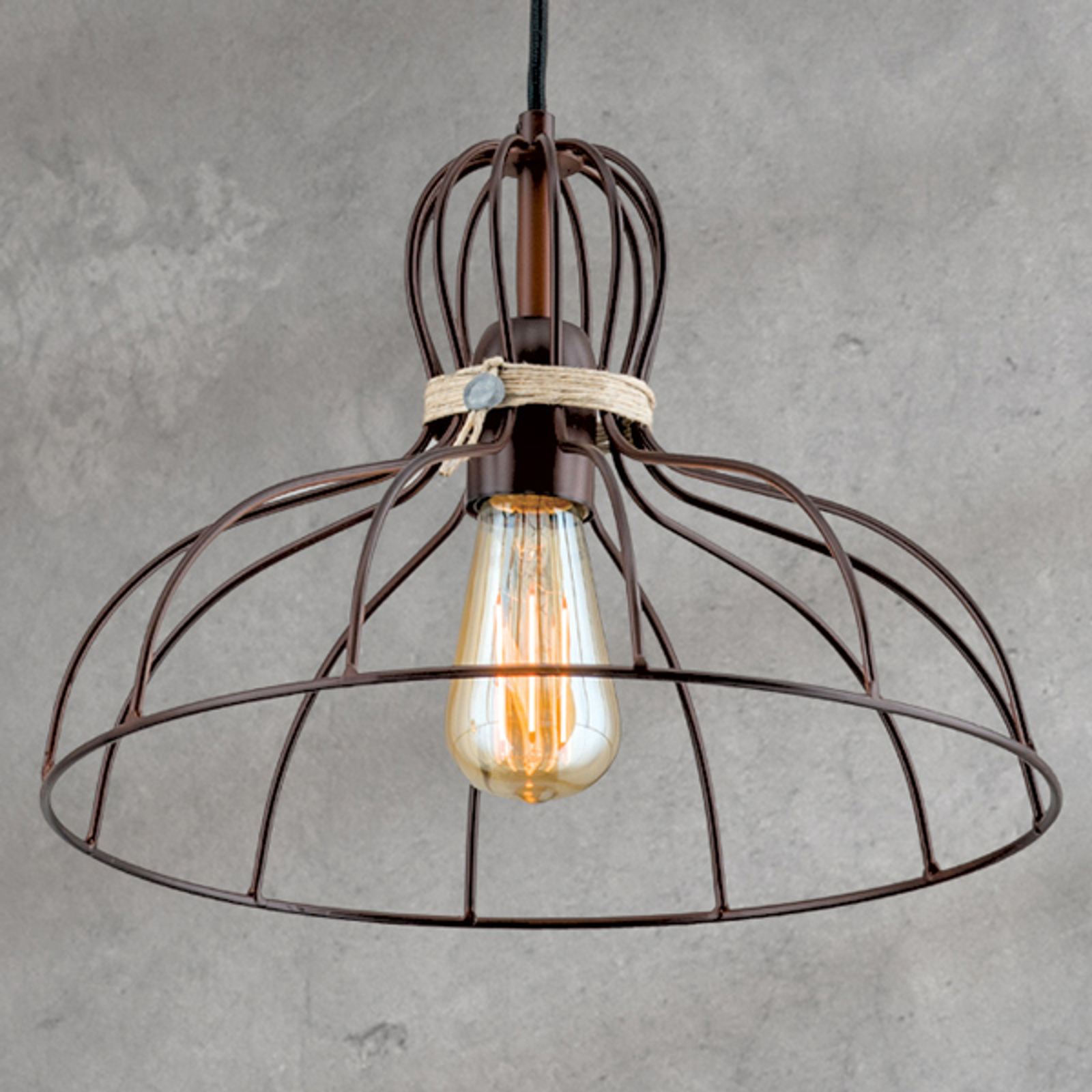 Lampa wisząca Dilip - urok vintage